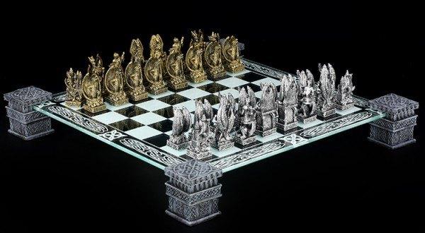 Drachen Fantasy Schachspiel