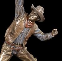 Cowboy Figur - Wilder Hengst