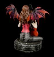 Dark Angel Figur - Coctura mit E-Gitarre