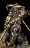 Thor Figurine - Fighting Jormungand