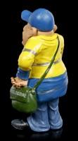 Funny Jobs Figurine - Italian Postman