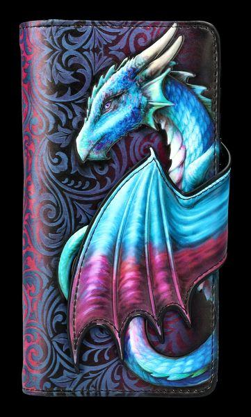 Purse with Dragon - Take Flight Blue