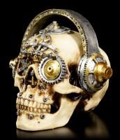 Steampunk Totenkopf - Techno Talk groß
