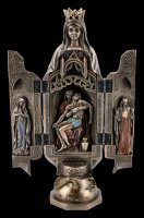 Triptych Sculpture of Pieta - Lady of Grace