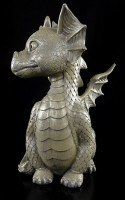 Outdoor Statue - Baby Dragon sitting