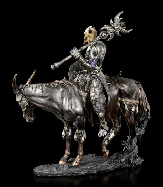 Dämonen Figur - Malphas auf Pferd - bunt