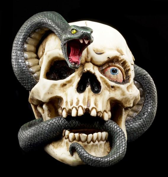 Totenkopf - Schlangen Schädel