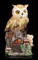 Owl Treehouse with LED