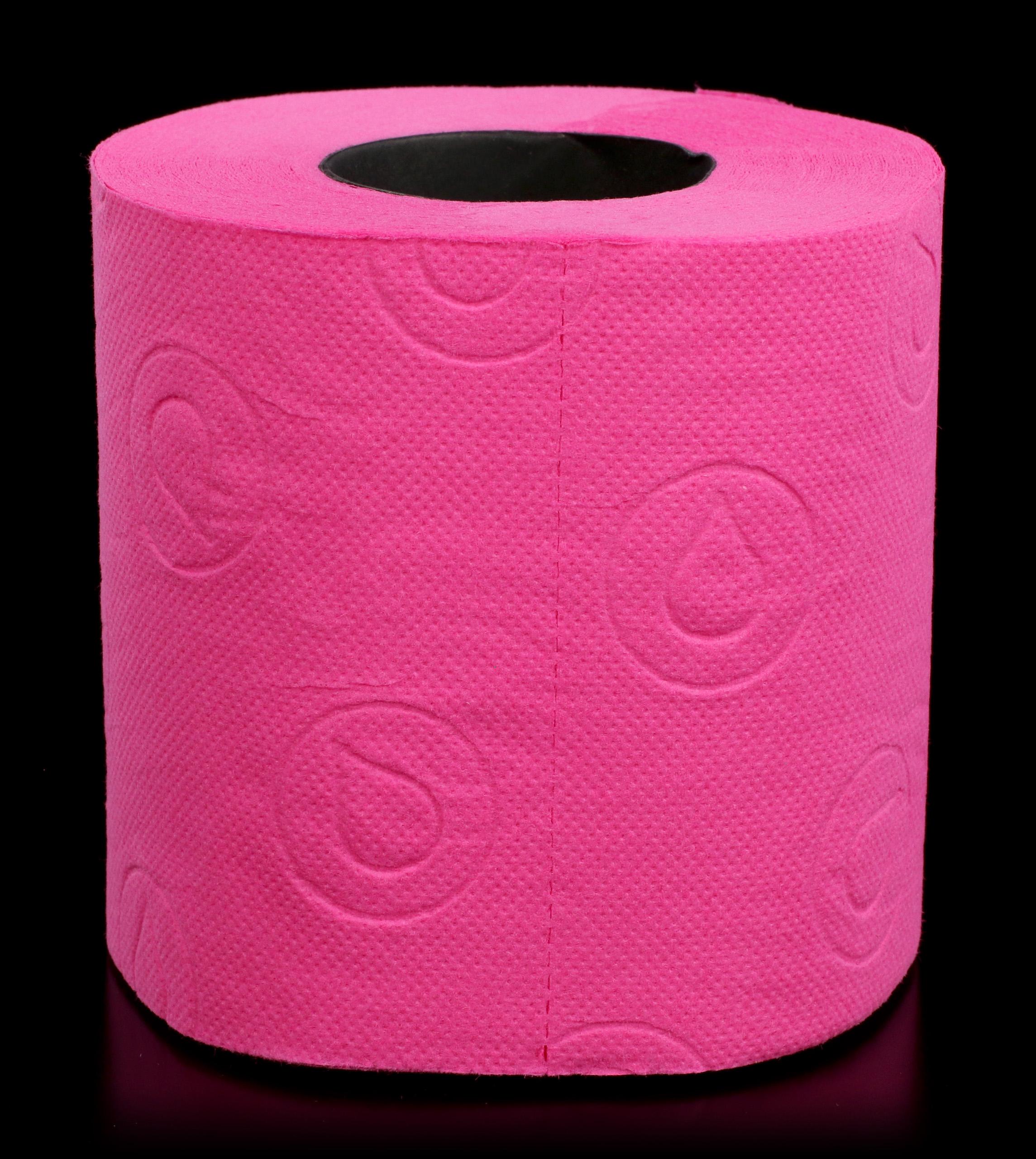 Toilettenpapier Pink