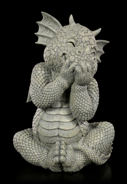 Dragon Garden Figurine - Laughs in the Fist