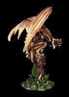 Dragon Figurine - Ginbertus on Sword