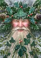 Fantasy Weihnachtskarte - Spirit of Yule