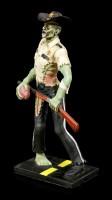 Zombie Figurine - Sheriff with Gun