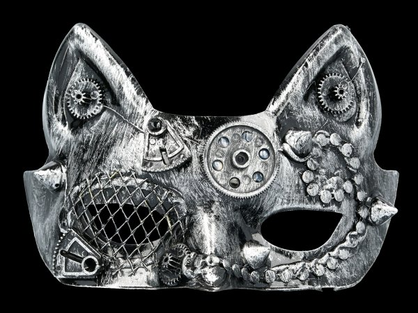 Steampunk Maske - Teknocat