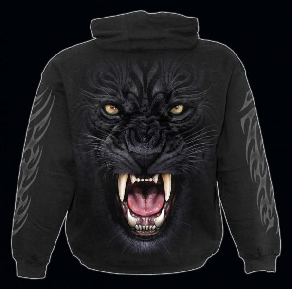 Spiral Gothic Kapuzenpullover - Tribal Panther