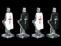 Ritter Figuren - Templer 4er Set