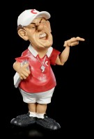 Funny Job Figurine - Coach with Clipboard