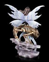 Fairy Figurine - Mira with Dragon Skeleton