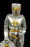 Crusader Figurine with Sword and Shield