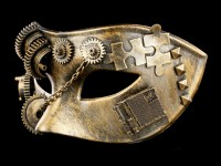 Steampunk Mask - Puzzled Masquerade