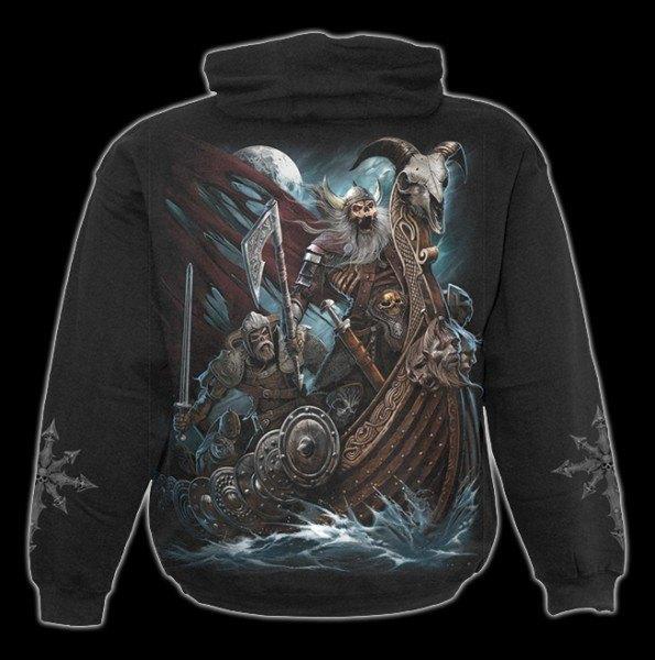 Kapuzenpulli Skelett Wikinger - Viking Dead