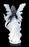 Fairy Figurine - Ramira with two Dragons