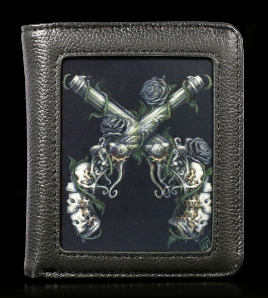 Wallet with 3D Pistols - Grim Six