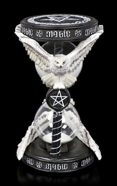 Eulen Sanduhr - Magical Owl by Anne Stokes
