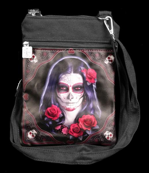 Small Shoulder Bag - Sugar Skull