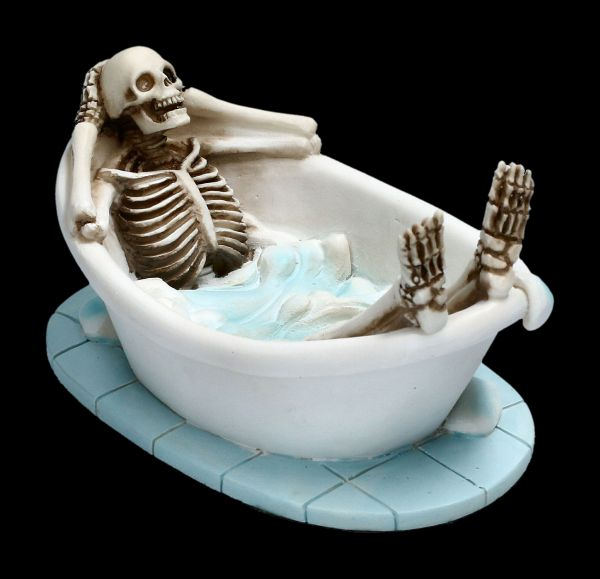 Skeleton Figurine - Take a Bath