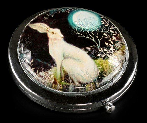 Taschenspiegel mit Hase - Mystic Knight