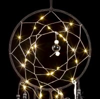 Dreamcatcher with LED - Onyx Dreams