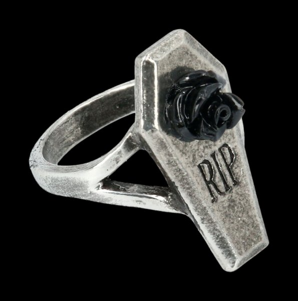 Alchemy Sarg Ring - RIP Rose