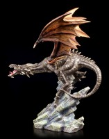 Dragon Figurine - Carnage on Rock
