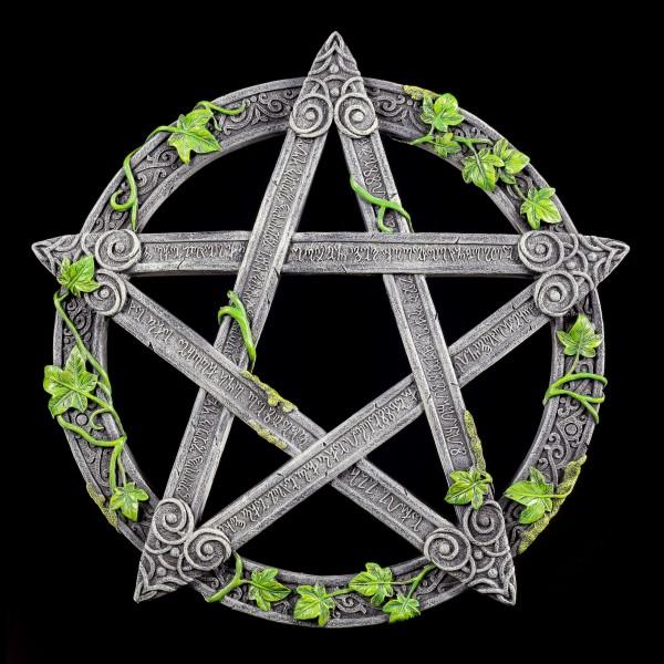 Wandrelief - Wicca Pentagramm