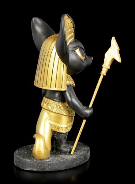 Niedliche Anubis Figur