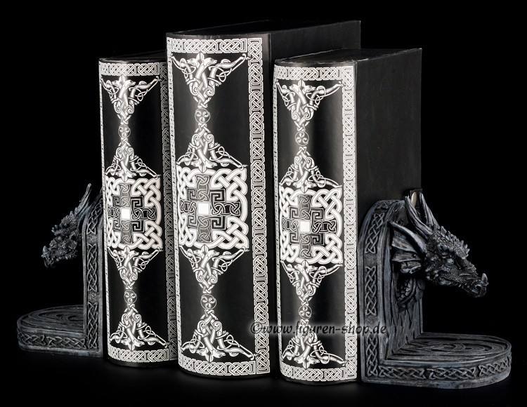 kleine drachen buchst tzen lesen einrichtung fantasy gothic dragon literatur ebay. Black Bedroom Furniture Sets. Home Design Ideas