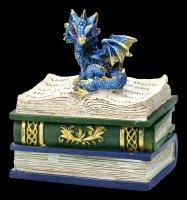 Drachen Schatulle - Dragonling Diaries - blau