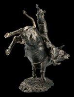 Cowboy Figurine - Rodeo on Bull