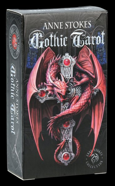 Tarot Cards - Gothic Tarot by Anne Stokes