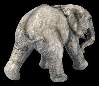 Spardose - Baby Elefant laufend