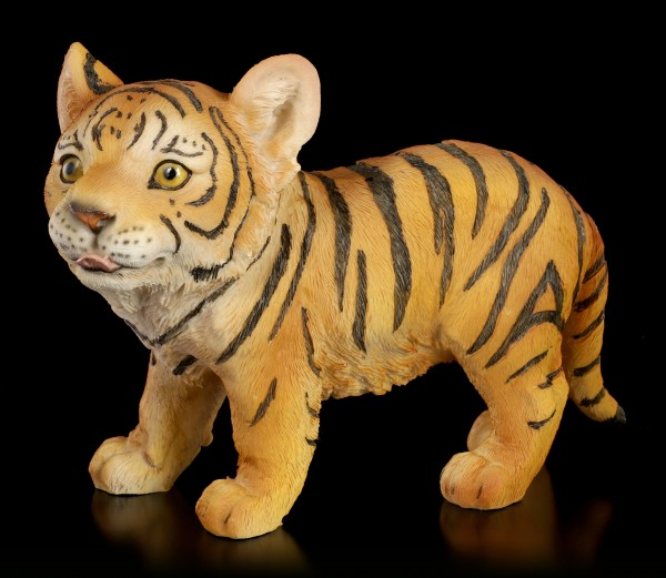 Tiger Figurine - Baby plodding
