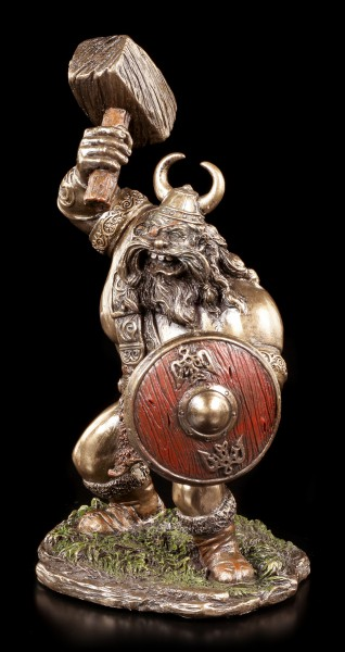 Wikinger Figur mit Hammer