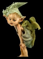 Pixie Goblin Figurine - Dragon Rider