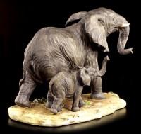Elefanten Figur - Kind mit Mama