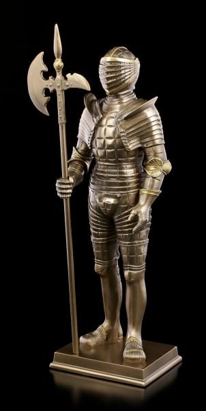 Italienische Ritter Rüstung - Niccolo Silva von Mailand - bronziert