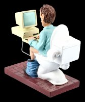Funny Jobs Figurine - Important Meeting