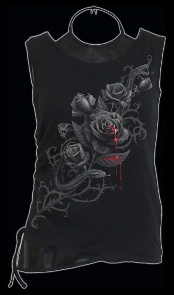 Spiral Damen Gothic Shirt mit Rose - Fatal Attraction