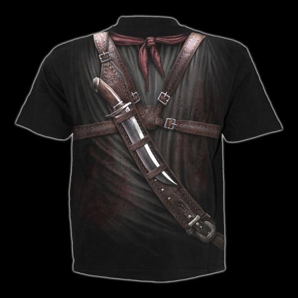 T-Shirt Fantasy Western - Holster Wrap