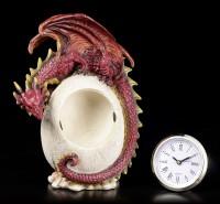 Dragon Table Clock - Timeless Guardian